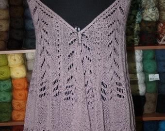 Light feather grass shawl