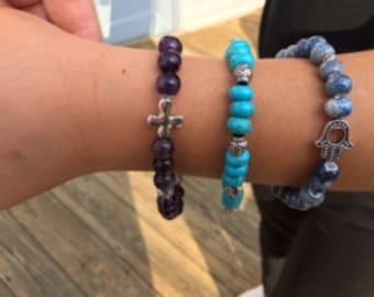 Romantic bead bracelets