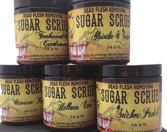 Cleopatras Curse vegan organic Sugar Scrub
