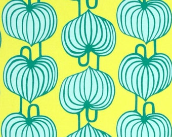Amy Butler Lark Sateen Chinese Lanterns Citrus Home Decor Fabric | Yardage | Quilt Cotton | Cut to Size | By the Yard | SAAB08