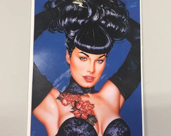 Car Decal - Bettie Page by Olivia