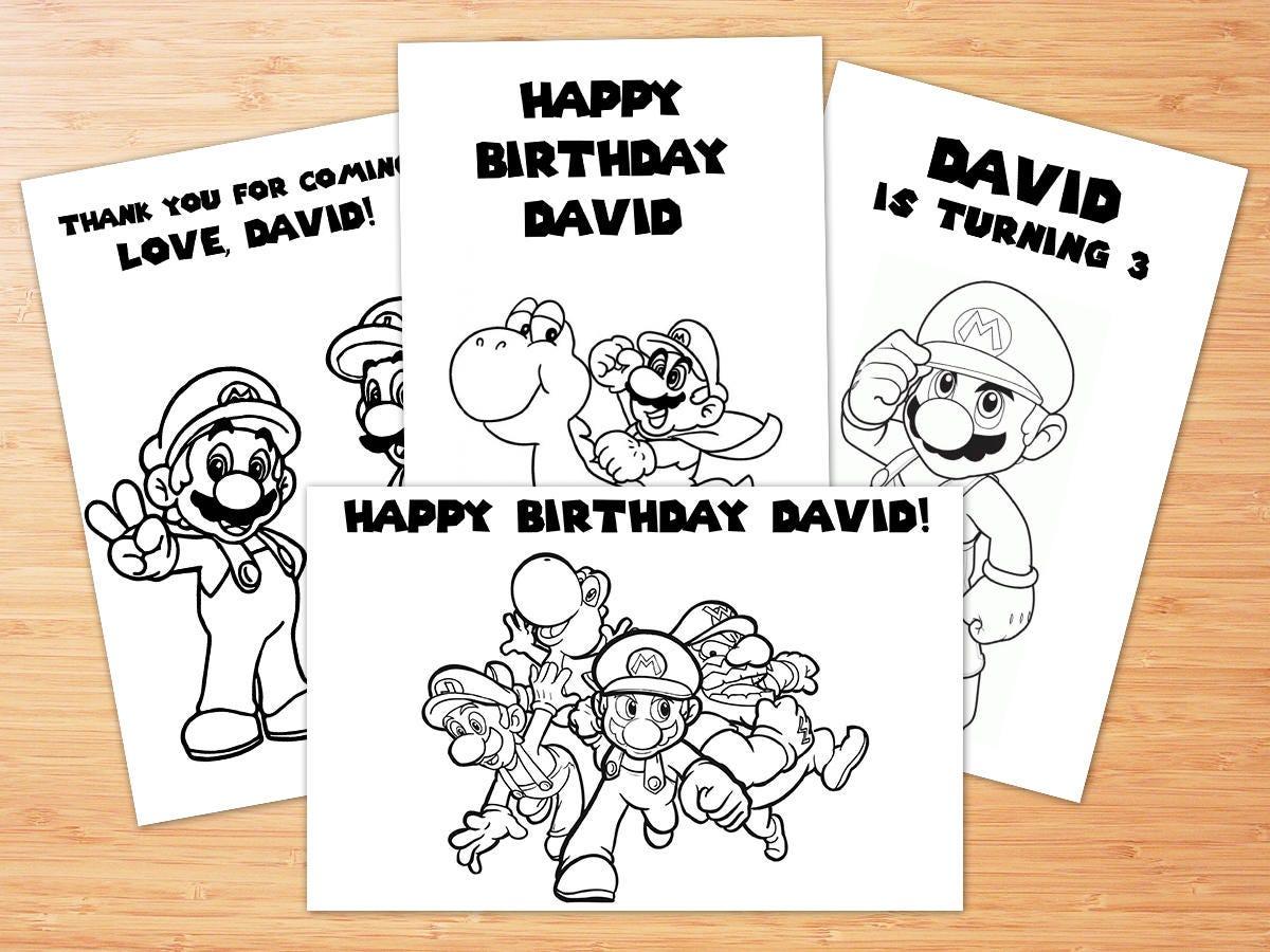 Berühmt Papier Mario Zeichen Malvorlagen Ideen - Beispiel Business ...