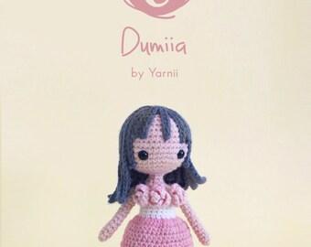 Dumiia Doll Crochet Pattern By Yarnii