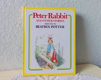 Peter Rabbit and Other Stories, By Beatrix Potter, Hardcover in very good condition, 1977 Edition.