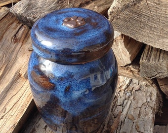 Blue Heaven Dog Urn Up to 25 lbs