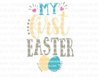 My first easter svg, baby easter svg, 1st easter svg cutting files, 1st easter boy svg, 1st easter girl svg files, first easter svg files