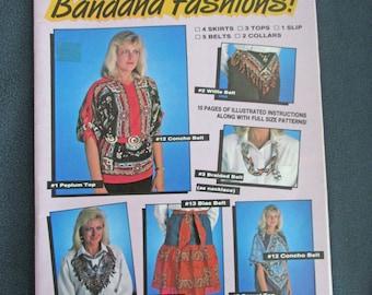 Sassy Lady Bandana Fashions Book No. 901