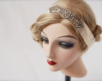 Clara Bow, Rhinestone Headband