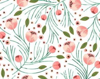 Lovey Winter Floral. Lovey. Floral Lovey. Coral Lovey. Mini Baby Blanket. Security Blanket. Lovie. Minky Lovey.