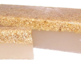Handmade soap Honey & oatmeal, 100 gr.