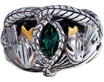 Aragorn's Ring of Barahir From Lord Of The Rings Sizes 6 - 8 - 9 or 10