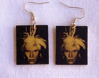 Andy Warhol Earrings