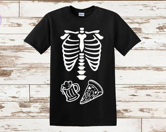 Dad Halloween Shirt, Dad Skeleton Shirt, Skeleton Shirt, Family Shirt, Pregnancy Announcements, Family Halloween Shirts