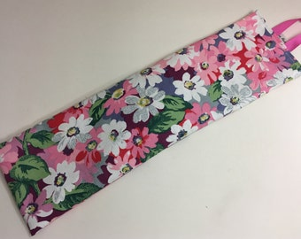 Wheat bag, Heat pack warmer,Hottie handmade in Cath Kidston painted daisy cotton