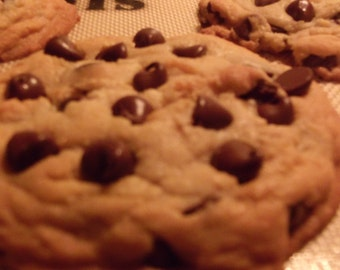 A Pound of Homemade Chocolate Chip Cookies