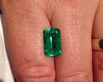 Natural Columbian Emerald 3.60ct