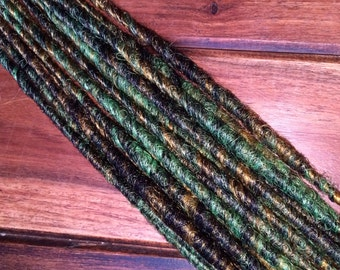 Synthetic Dreads - Forest Marble SE - SET of 4