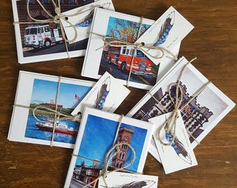 Baltimore Fire Series Note Cards
