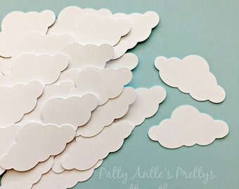 Cloud Die Cuts, Cloud Confetti