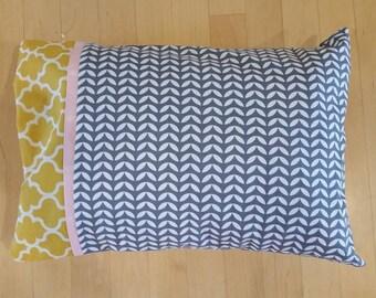 Toddler Pillowcase - Handmade Toddler Pillowcase - Custom Toddler Bedding - Toddler Pillow - Baby Shower Gift - Modern Toddler Bedding
