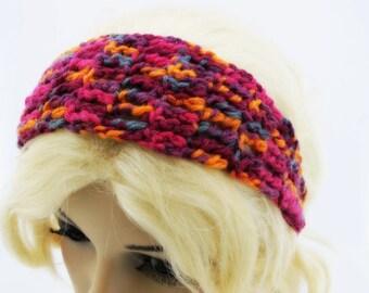 Autumn Sunset Crochet Headband