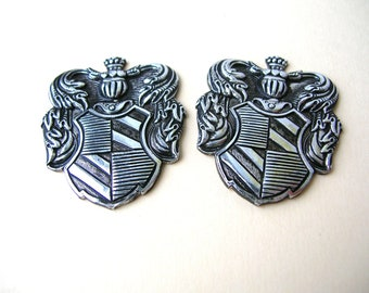 Coat of Arms Component, Shield Part, Craft Parts, Supplies