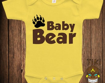 Shower Baby Infant Bodysuit Clothes One-piece Romper One Piece Baby Bear Family Matching See Description Joke Humor Funny Adorable Cute