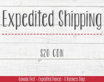Shipping Add-On | North America | Expedited Shipping | Canada Post