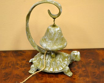 Cast Iron Turtle Bell