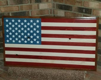 American flag.  Red/White/Blue