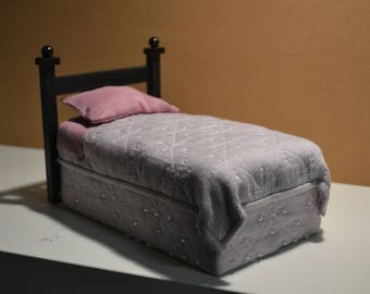 Miniature twin bed
