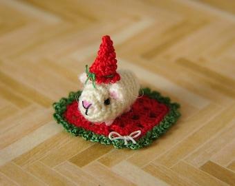 PDF PATTERN - Crochet Miniature Guinea Pig - Amigurumi Tutorial