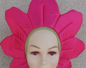 Pink flower costume for toddlers, kids and adults