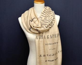 Anna Karenina shawl/scarf - russian version
