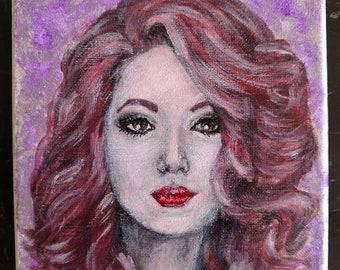 Mysterious Woman's Portrait