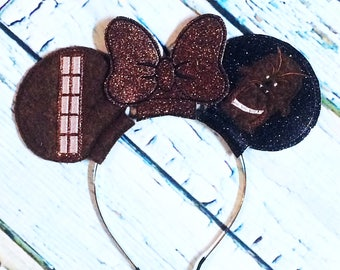 Chewbacca inspired mouse ears