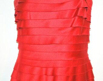 Vintage BCBG Max Azria Strapless Evening Gown