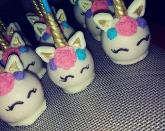 Unicorn Cakepops