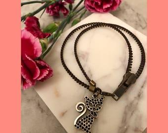 Zipper Charm Bracelets