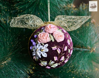 Christmas Ball Ornament. Decoration, Christmas, Wedding, Gift, Birthday, Anniversary