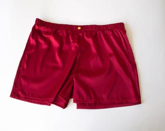 Zeus: Silk boxer shorts in 22 colors and patterns