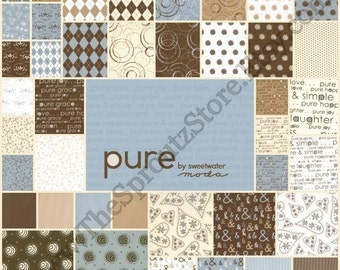 Pure by Sweetwater for Moda Fabrics - Charm Packs - SET OF 2