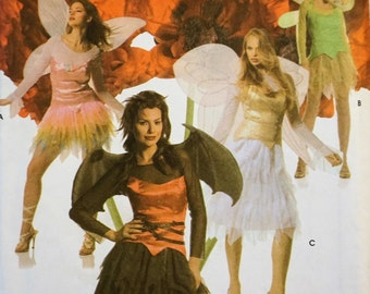 Simplicity 4902 - Ladies' Fairy Pixie Ruffle Skirt Halloween Costume 6-8-10-12
