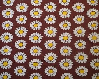 Naperonuttu Daisy organic cotton Jersey children's fabric Finnish design Scandinavian