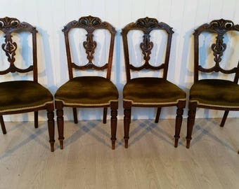 Set of Four Victorian Dining Chairs