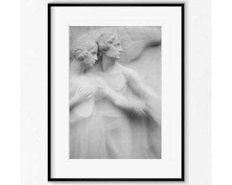 Angel , Religious Art , Angel Photography , Angel Art Print , Angel Gift , Angel Wall Decor , Wall Art , Guardian Angel , Christian Faith