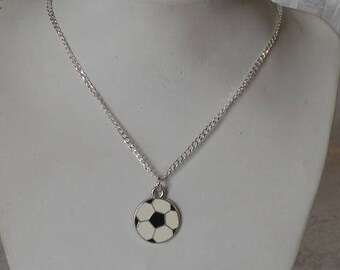 Necklace with mixed - Football