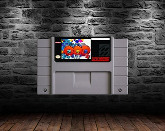 Cu-On-Pa SFC - English Translation - Cube up some jolly good puzzles - SNES