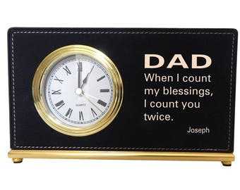 Dad Birthday Gift - Gifts for Dad - Personalized Fathers Day Gift - Father's Day Gift from Son or Daughter, LCD073