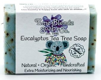 Eucalyptus Tea Tree Soap